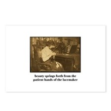 Beauty - the Lacemaker Postcards (Package of 8)