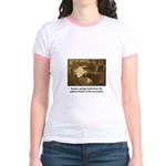 Beauty - the Lacemaker Jr. Ringer T-Shirt