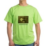 Beauty - the Lacemaker Green T-Shirt