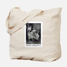 The Lace Making Lesson Tote Bag