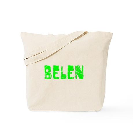 Belen Faded (Green) Tote Bag