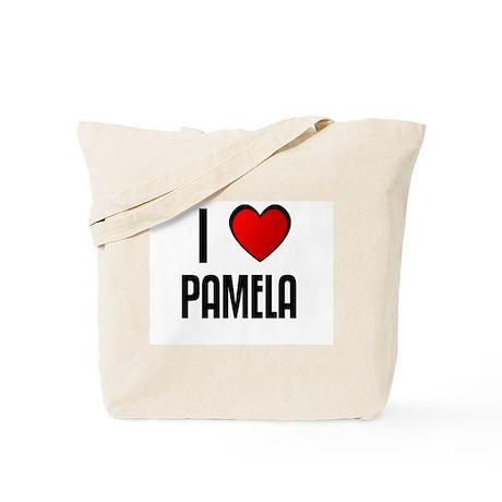 I LOVE PAMELA Tote Bag