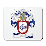 Sole Family Crest Mousepad