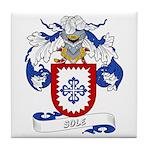 Sole Family Crest Tile Coaster