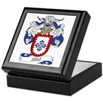 Sole Family Crest Keepsake Box