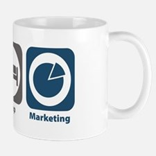 Eat Sleep Marketing Mug
