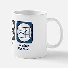 Eat Sleep Market Research Mug