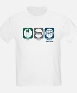 Eat Sleep Market Research T-Shirt