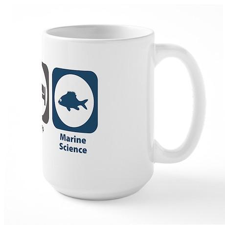 Eat Sleep Marine Science Large Mug