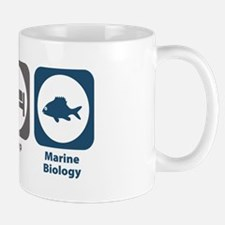 Eat Sleep Marine Biology Mug