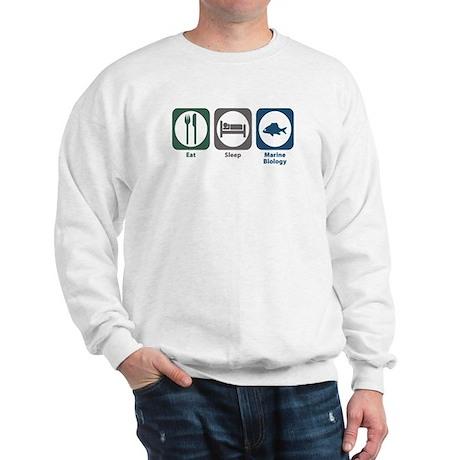 Eat Sleep Marine Biology Sweatshirt