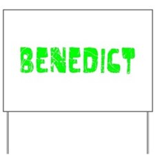 Benedict Faded (Green) Yard Sign