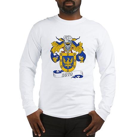 Soto Family Crest Long Sleeve T-Shirt