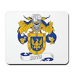 Soto Family Crest Mousepad
