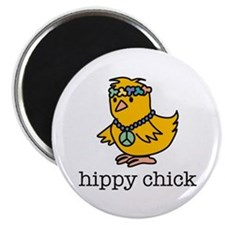 HIPPY CHICK Magnet