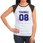 Tramel 08 Women's Cap Sleeve T-Shirt