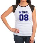 WEIGEL 08 Women's Cap Sleeve T-Shirt