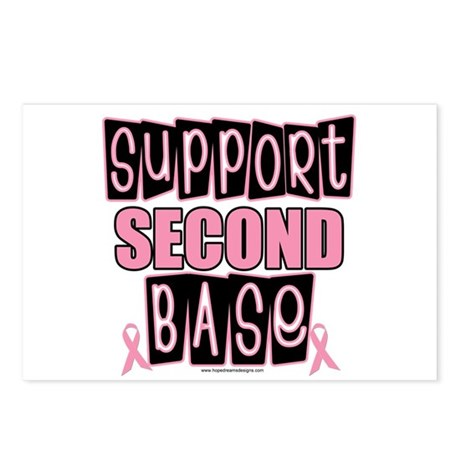 Support 2nd Base Postcards (Package of 8)
