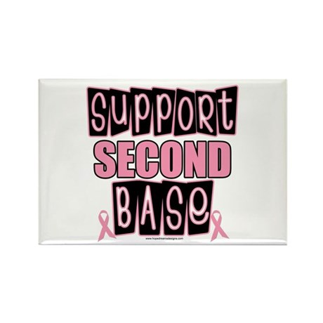 Support 2nd Base Rectangle Magnet