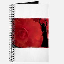 Rose Belly Dancer Journal