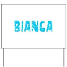 Bianca Faded (Blue) Yard Sign