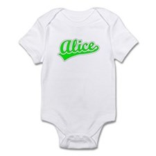 Retro Alice (Green) Infant Bodysuit