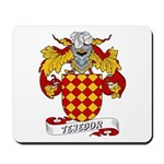 Tejedor Family Crest Mousepad