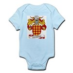 Tejedor Family Crest Infant Creeper