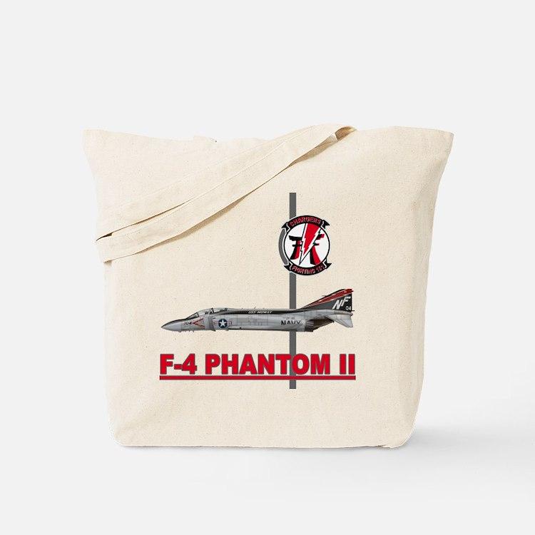 Cute F4 phantom Tote Bag