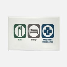 Eat Sleep Magnetic Resonance Rectangle Magnet