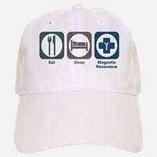 Eat Sleep Magnetic Resonance Baseball Baseball Cap