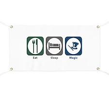 Eat Sleep Magic Banner