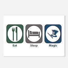 Eat Sleep Magic Postcards (Package of 8)
