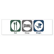 Eat Sleep Magic Bumper Sticker (10 pk)