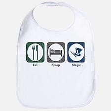 Eat Sleep Magic Bib