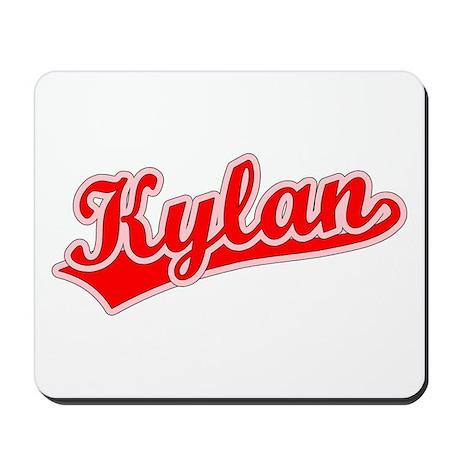 Retro Kylan (Red) Mousepad