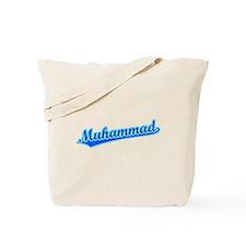 Retro Muhammad (Blue) Tote Bag