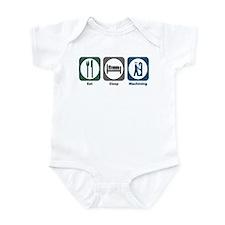 Eat Sleep Machining Infant Bodysuit
