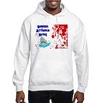 Shark Attacks Bite! Survivor? Hooded Sweatshirt