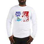 Shark Attacks Bite! Survivor? Long Sleeve T-Shirt