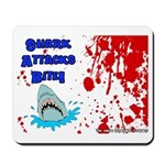 Shark Attacks Bite! Survivor? Mousepad