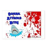 Shark Attacks Bite! Survivor? Postcards (Package o