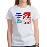 Shark Attacks Bite! Survivor? Women's T-Shirt