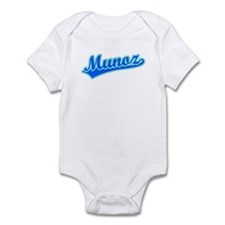 Retro Munoz (Blue) Infant Bodysuit