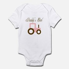 Daddy's Girl - Pink/Brown Tra Infant Bodysuit