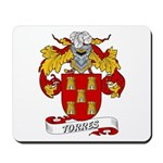 Torres Family Crest Mousepad