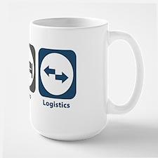 Eat Sleep Logistics Large Mug
