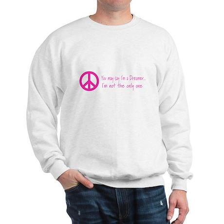 Imagine Peace Sign Sweatshirt