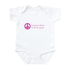 Imagine Peace Sign Infant Bodysuit
