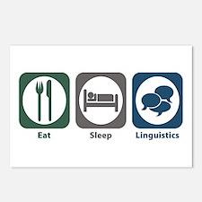 Eat Sleep Linguistics Postcards (Package of 8)